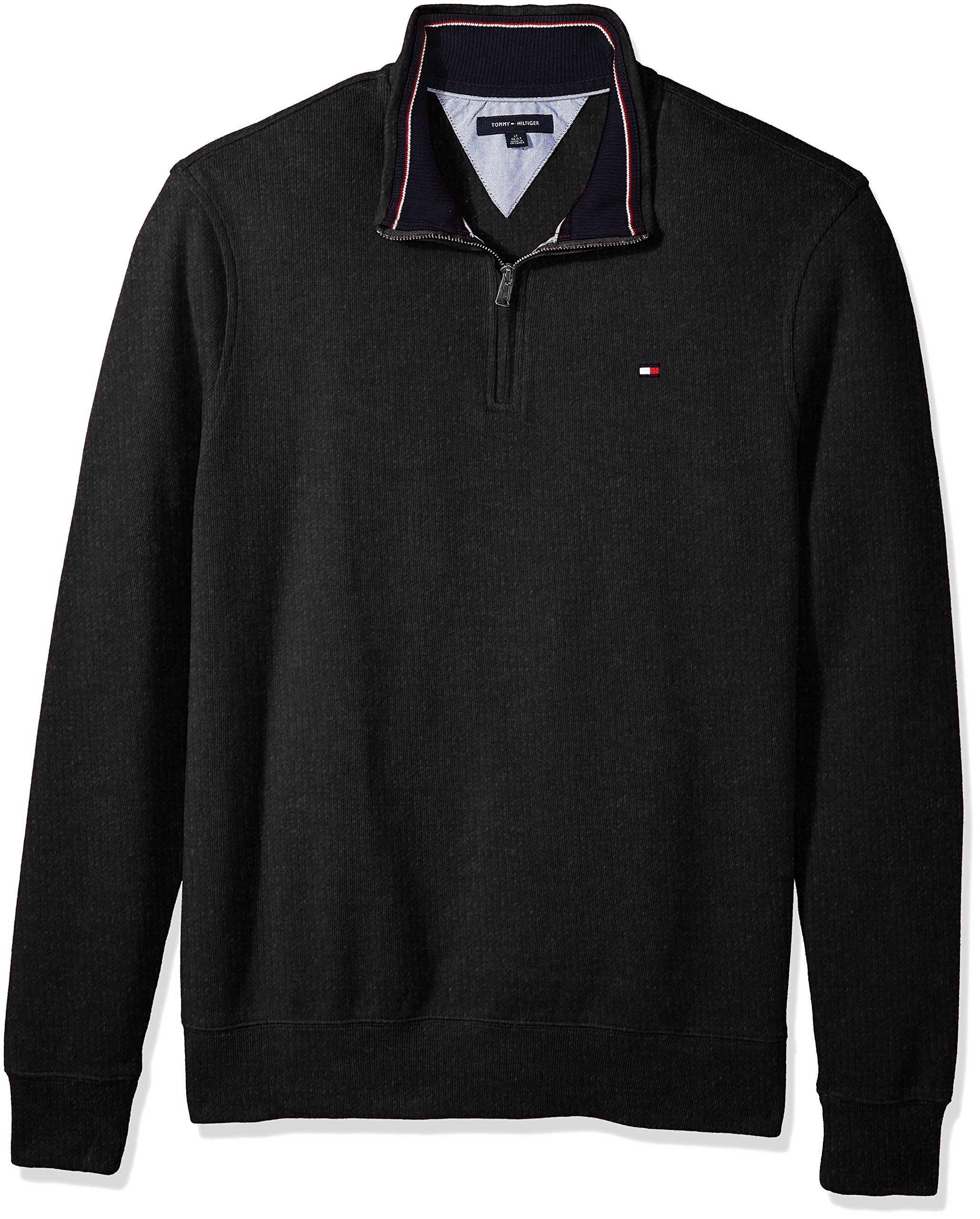 Tommy Hilfiger Men's Big and Tall 1/4 Zip Pullover