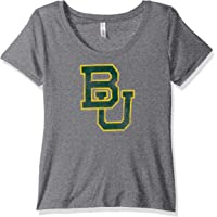 NCAA Adult-Women Women's Tri Blend Scoop-Neck Tee