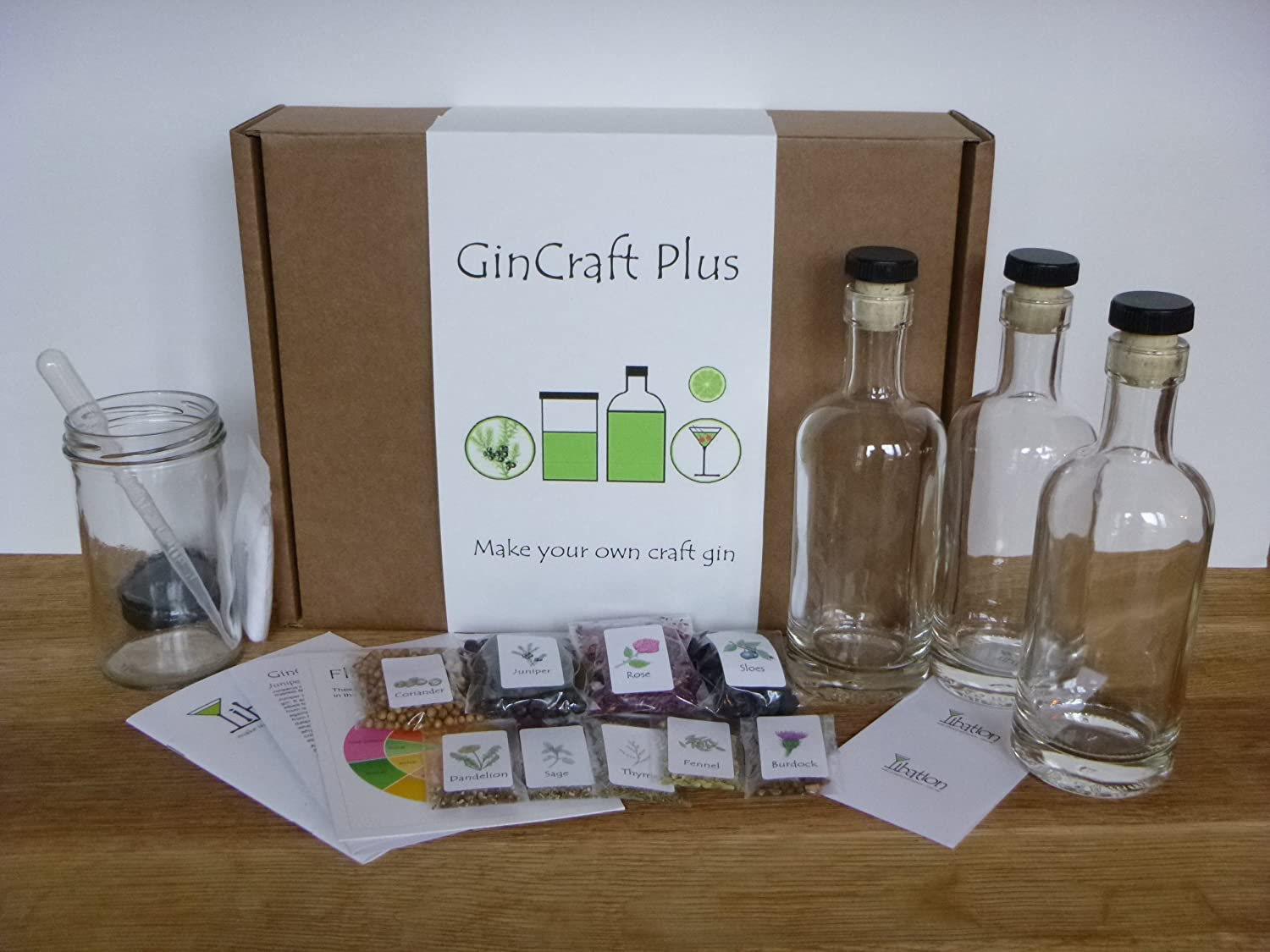 GinCraft Plus - make your own craft gin (deluxe kit) Libation Infusions