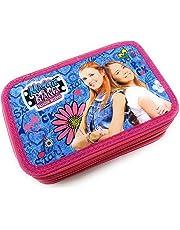 Originale Astuccio 3 Zip Maggie e Bianca