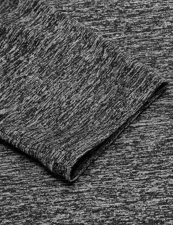Atmungsaktives Langarmshirt f/ür M/änner lang/ärmlige Trainingsshirt Sportshirt Trocknet schnell COOFANDY Laufshirt Herren sportliches Longsleeve