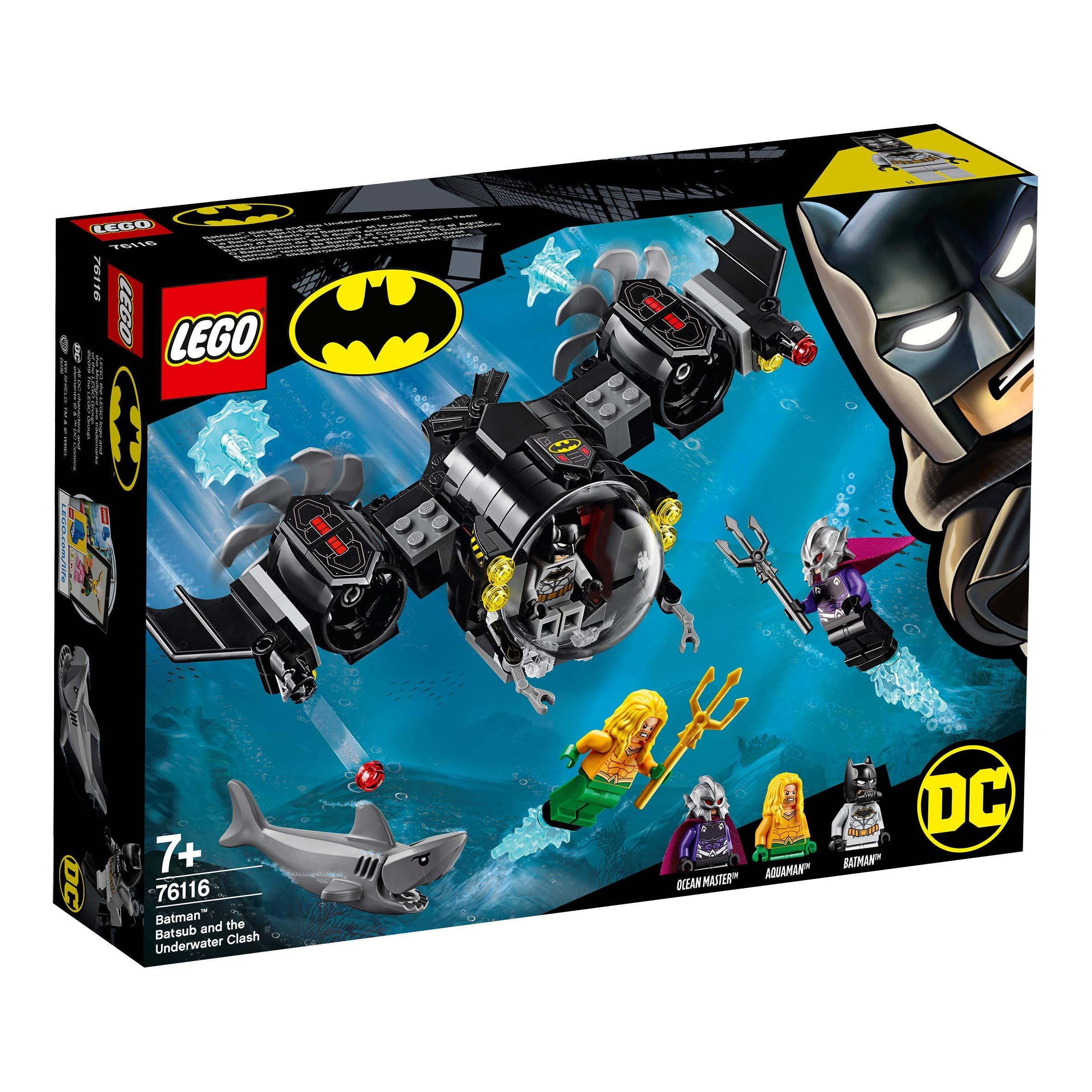 aus Set 76116 Figur LEGO ® 1 Hai DC Super Heroes Minifigur Batman