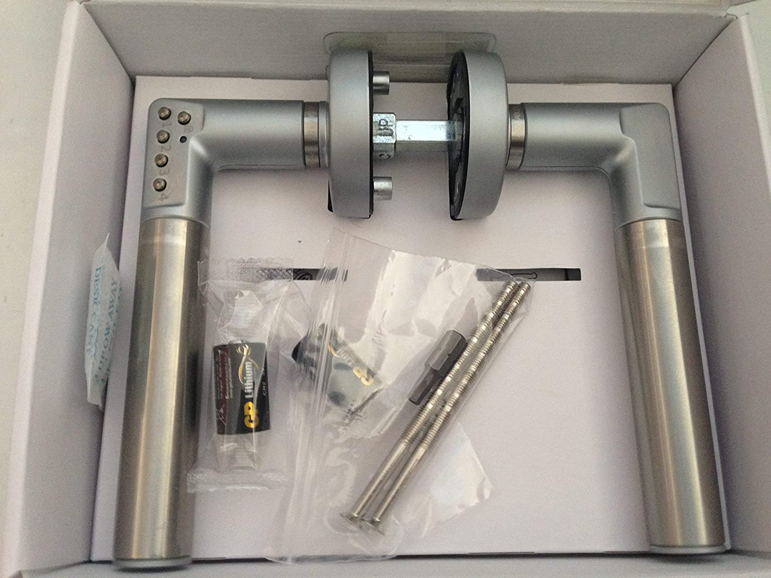 Grey Assa Abloy d8812/V000/Handle to Code for Ports