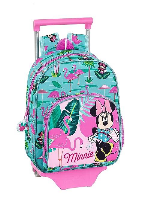 """Minnie Mouse """"Palms"""" Oficial Mochila Infantil Con Carro ..."""