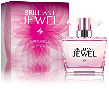Brilliant Jewel - Impression of Versace Bright Crystal, 2.7 fl oz