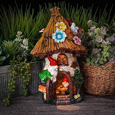 Amazon Com Teresa S Collections 12 2 Inch Fairy Garden House