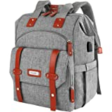 Laptop Backpack for Women, 15.6 Inch Computer Backpack Doctor Teacher Work Purse Bookbag, Wide Top Open College School Water
