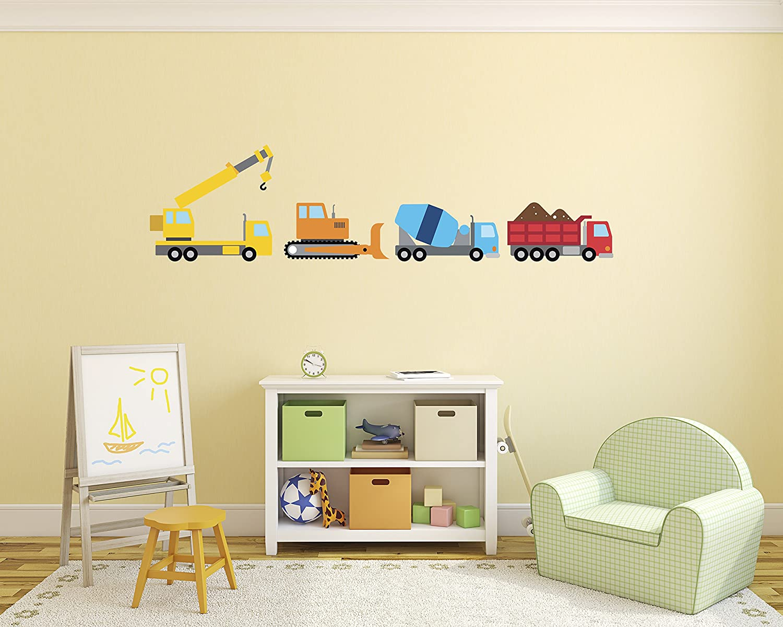 Amazon.com: Tractors Wall Decal - Tractor Wall Decals - Baby Nursery ...