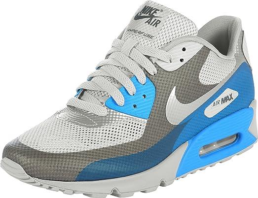 Nike Air Max 90 Hyperfuse Électronique Lueur Bleue Premium