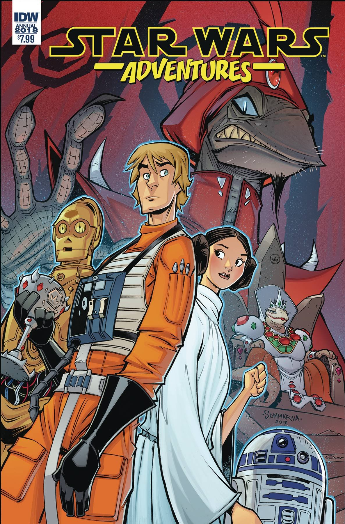 Download STAR WARS ADVENTURES ANNUAL 2018 AVAILABLE 4/25/2018 pdf