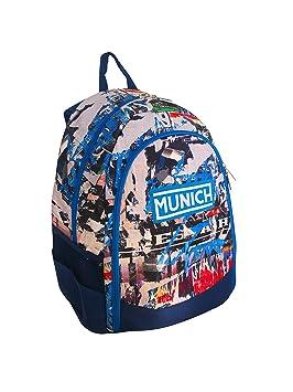 Munich 450830 Graffiti Mochila Tipo Casual, 43 cm, 20 litros, Azul Marino: Amazon.es: Equipaje