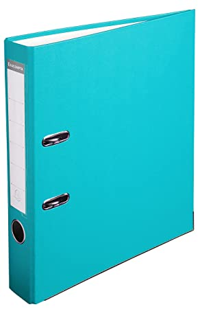 Exacompta archivador (polipropileno, A4, 2 anillas, lomo 50 mm, kaschierter Caja de cartón, color verde claro: Amazon.es: Oficina y papelería