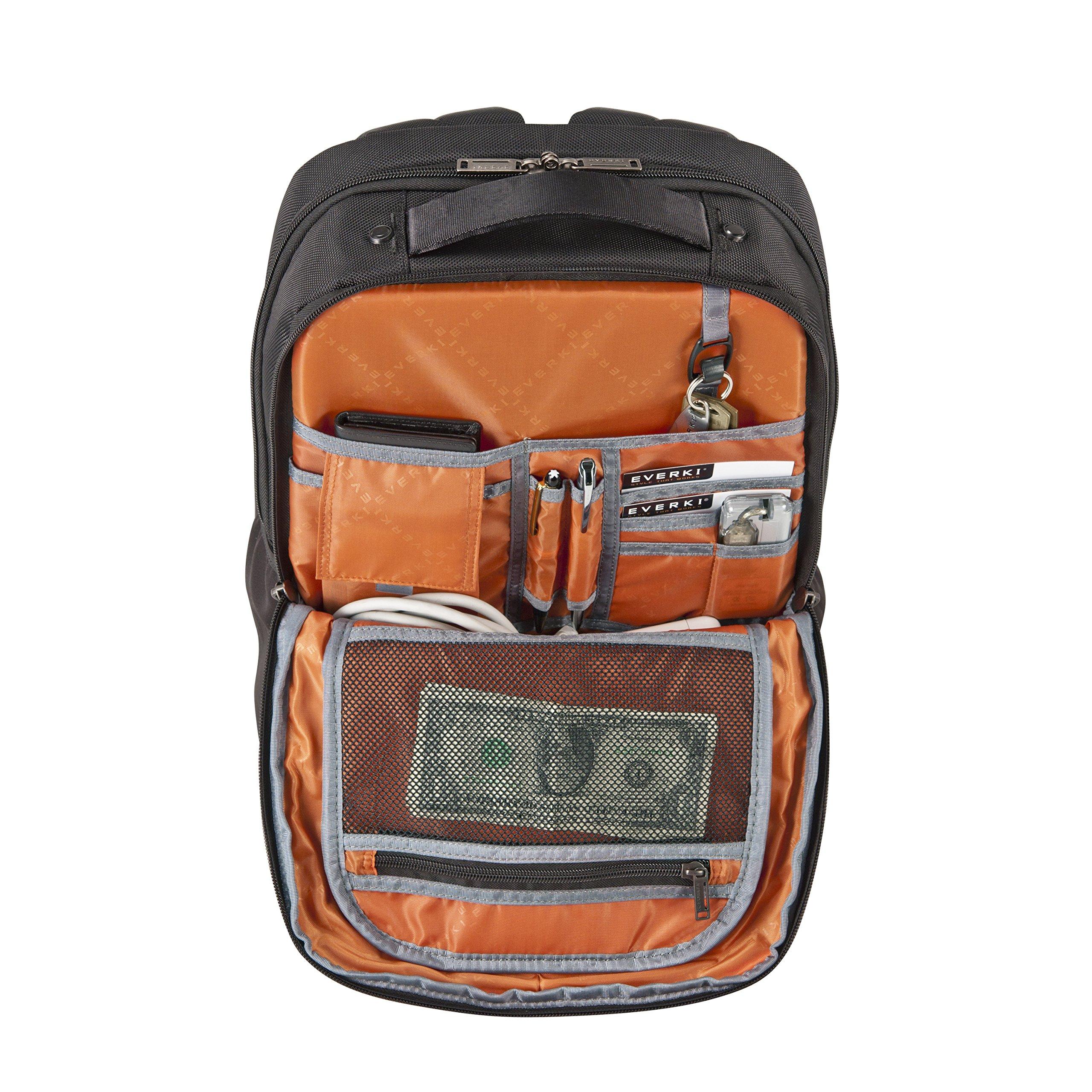Everki Studio Slim Laptop Backpack for upto 14.1-Inch Laptops/15-Inch MacBook Pro (EKP118) by Everki (Image #5)