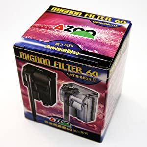 Azoo Aquarium Mignon Filter 60 review