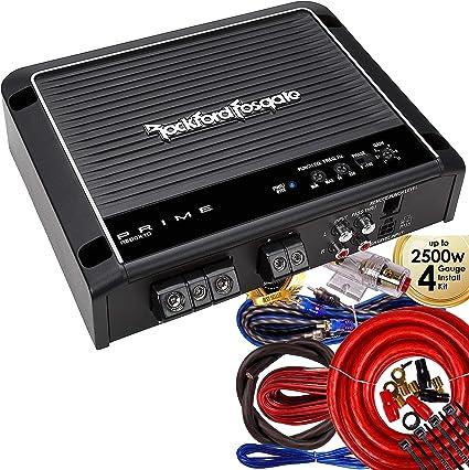 Rockford Fosgate R500X1D Prime Class D 1-Channel Amplifier