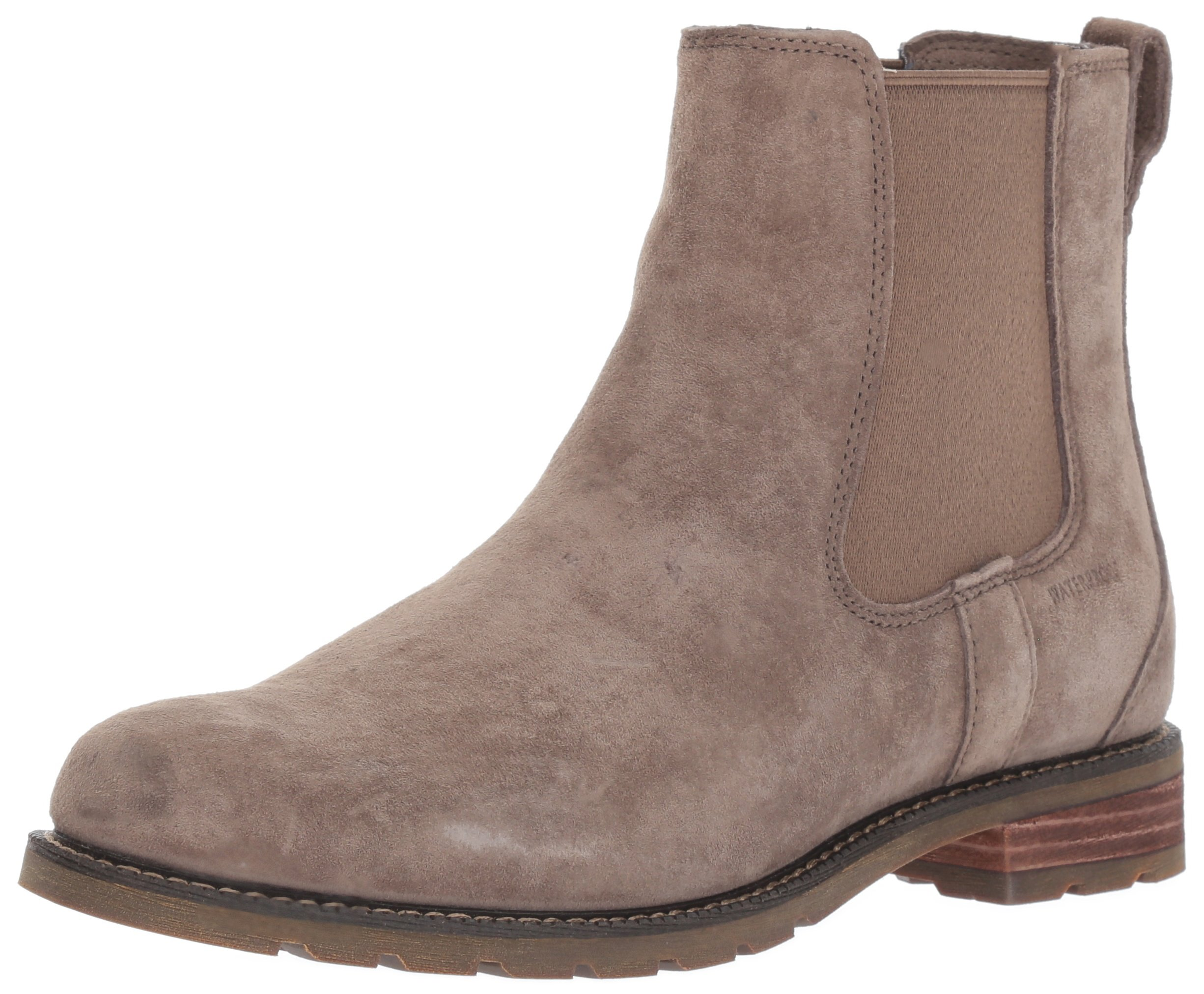 Ariat Women's Wexford H2O Work Boot, Taupe, 7 B US