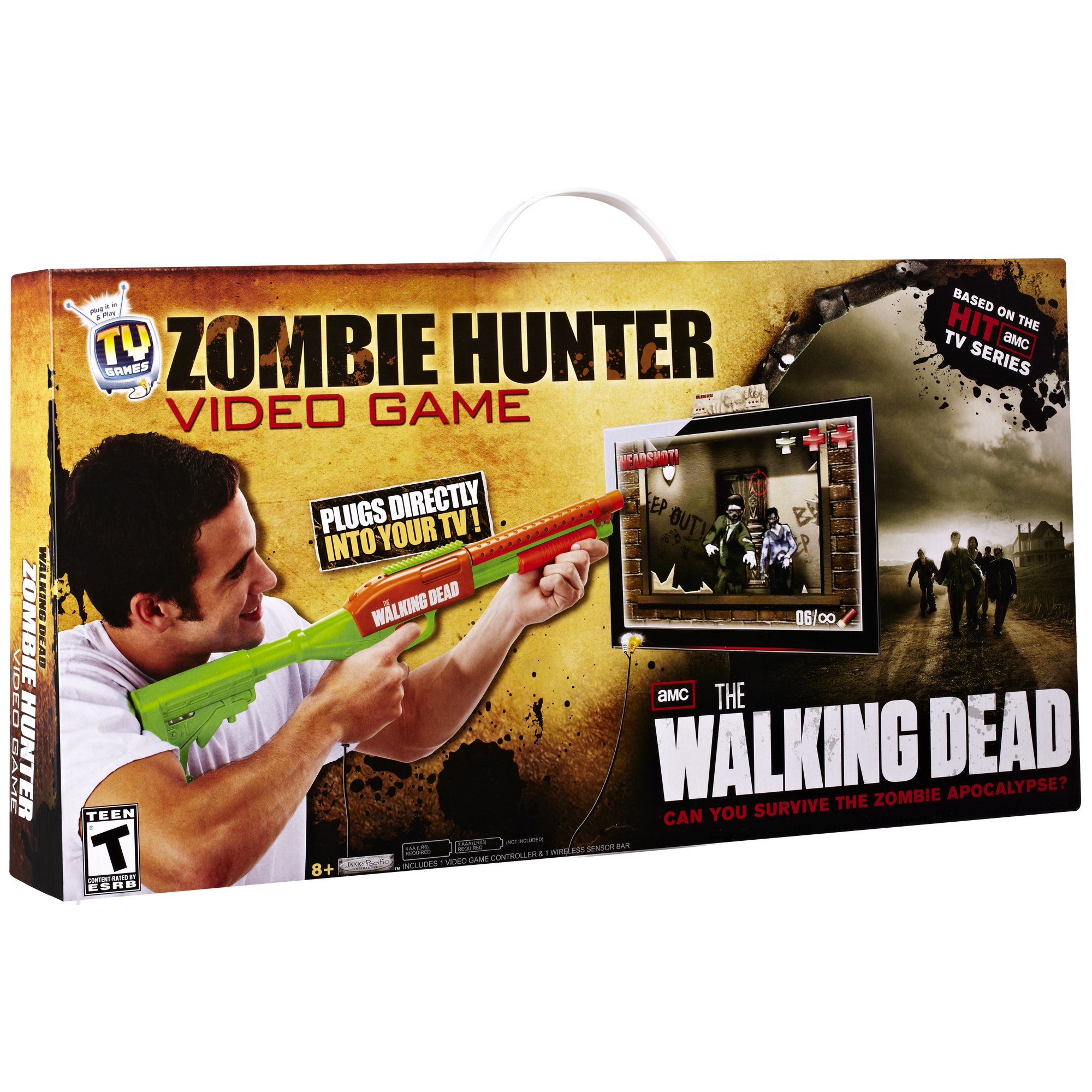The Walking Dead Zombie Hunter Video Game by TV Games (Image #2)