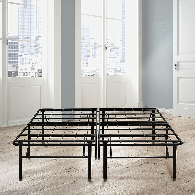 Amazon.com: Flex Form Raised Platform Bed Frame Base/Metal Mattress ...