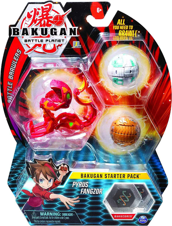 Spin Master-Starter 3 Pack-Mix 10 Paquete de 3 Figuras de acción coleccionables, para Edades de 6 y más, Multicolor (6054990)