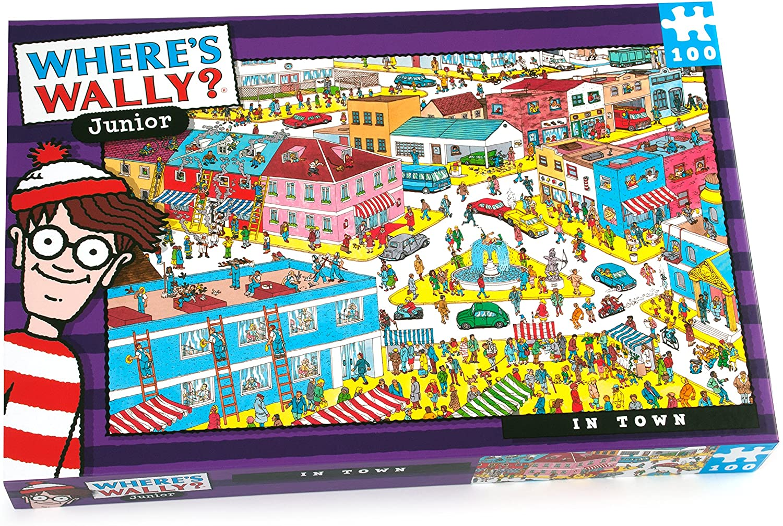Wally Town Puzzle: Amazon.es: Juguetes y juegos