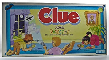 Clue Little Detective The Color-Matching Mystery Board Game: Amazon.es: Juguetes y juegos