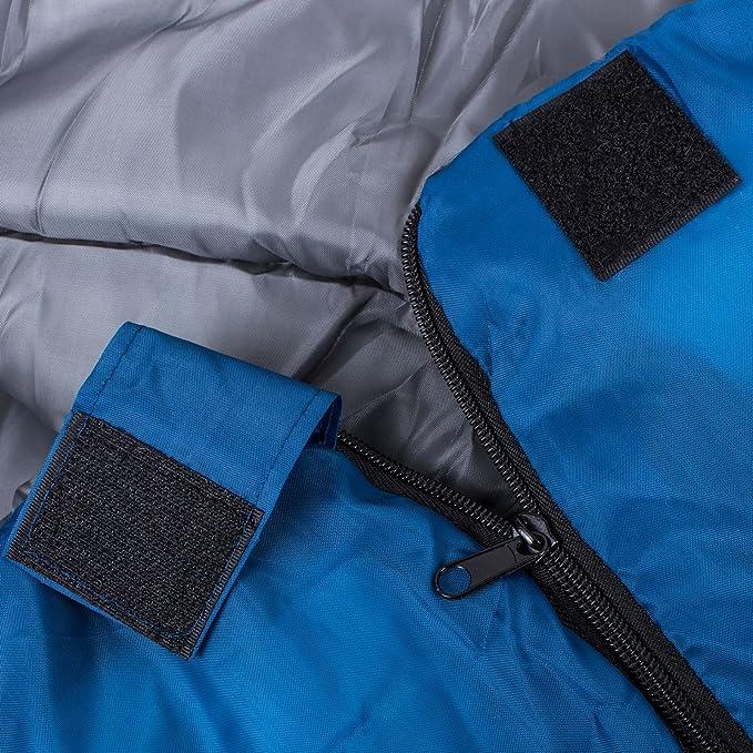 blau DUNLOP Schlafsack 190x75