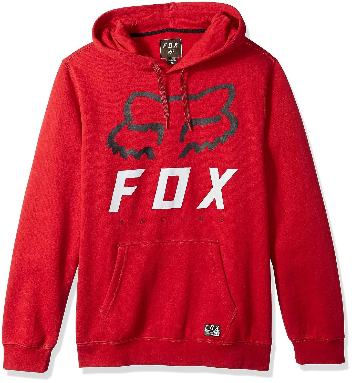 Fox Racing Men's Heritage Forger Pullover Fleece Hoodie Black
