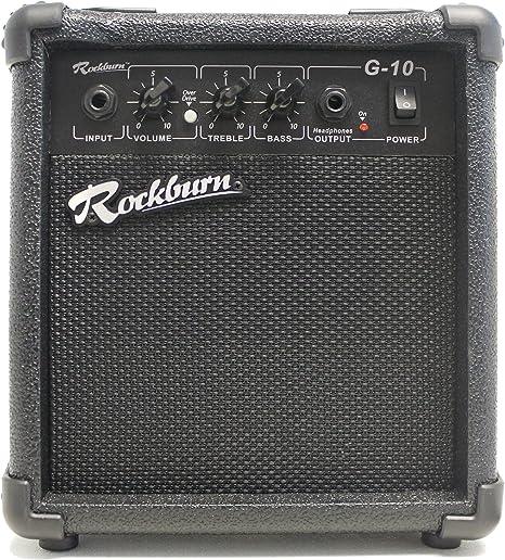 Rockburn Amp - Salida 10 vatios amplificador de guitarra para los ...