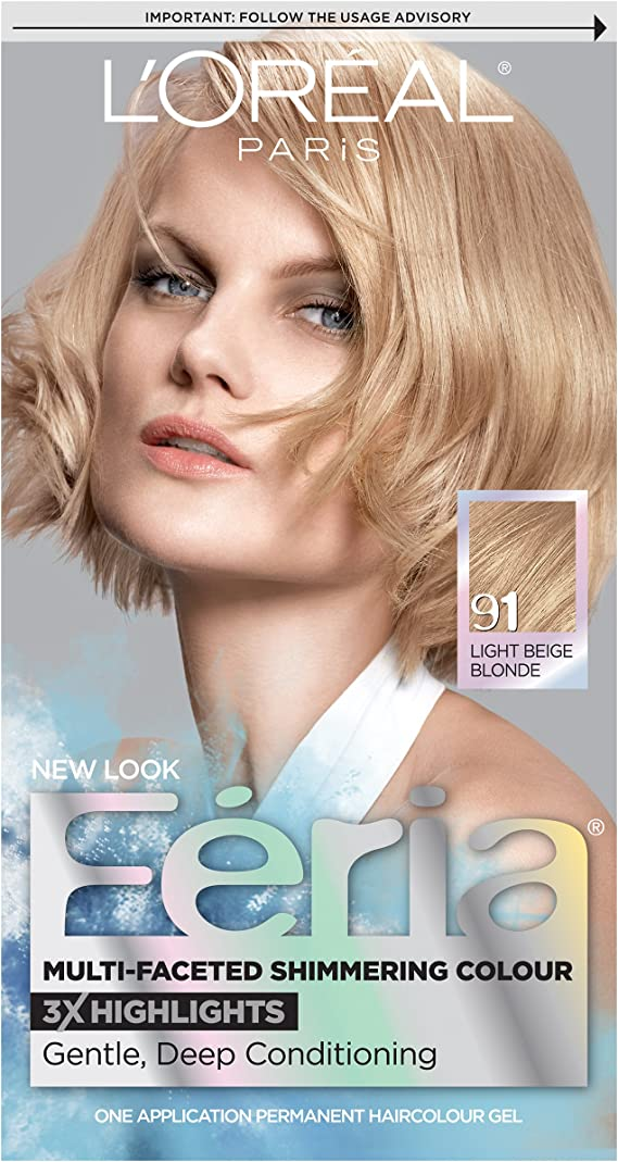 L'Oreal Paris Feria Multi-Faceted Shimmering Permanent Hair Color