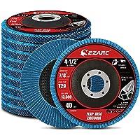 EZARC Flap Disc 115mm 40 Grit Zirconia Slijpschijf, Schuurschijven Type 29 voor roestvrij staal, gietijzer en…
