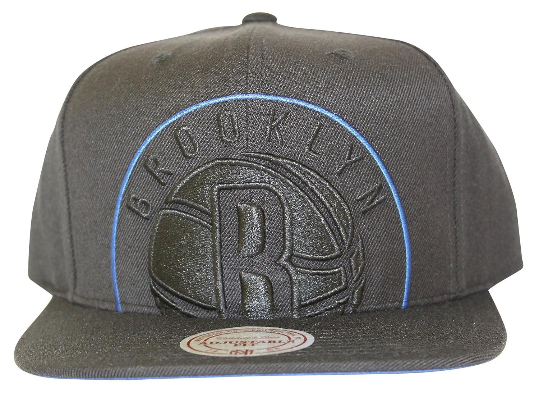 promo code 226c9 6ad95 Mitchell   Ness Men s NBA Cropped XL Logo Snapback Cap, Brooklyn Nets at  Amazon Men s Clothing store