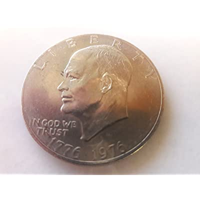 1976-1776 Bicetennial Eisenhower Dollar Coin IKE Dollar, Collectors Coin: Toys & Games