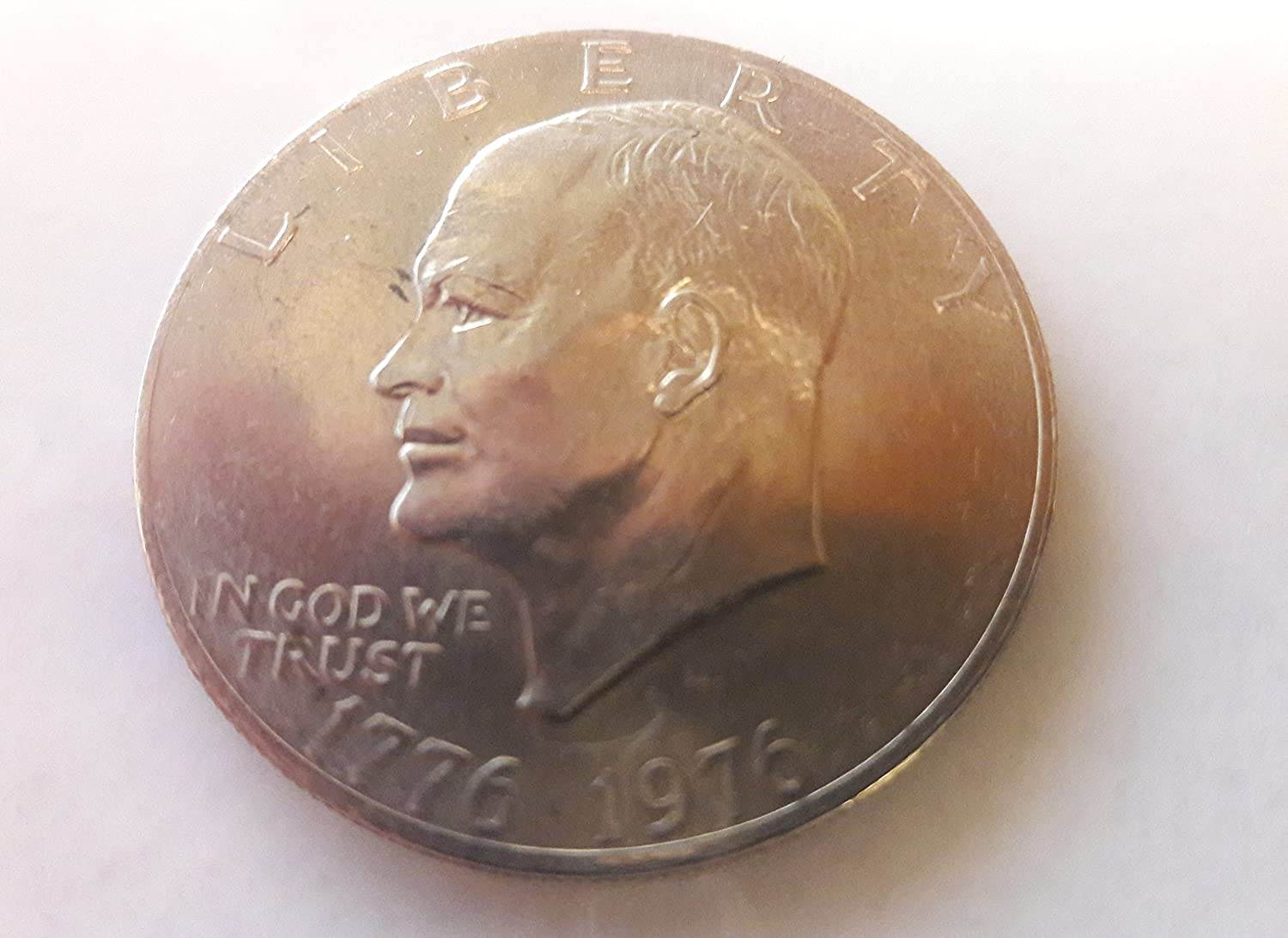 Amazon Com 1976 1776 Bicetennial Eisenhower Dollar Coin Ike Dollar Collectors Coin Toys Games,Soy Cheesecake