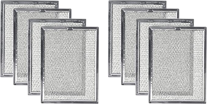 Nispira Replacement Microwave Range Hood Grease Filter Compatible With Frigidaire 5304464105 4 Filters