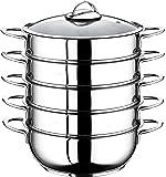 5 Etagen Dampfgarer Manti-Topf 30cm Mantowarka Dampfgar