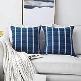 Amazon.com: NATUS WEAVER Throw Cushion Faux Linen Home ...