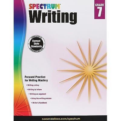 Carson-Dellosa Spectrum Writing Workbook Grade 7: Toys & Games