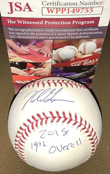 size 40 058b1 62cbb Nolan Gorman St Louis Cardinals Autographed Signed Official ...