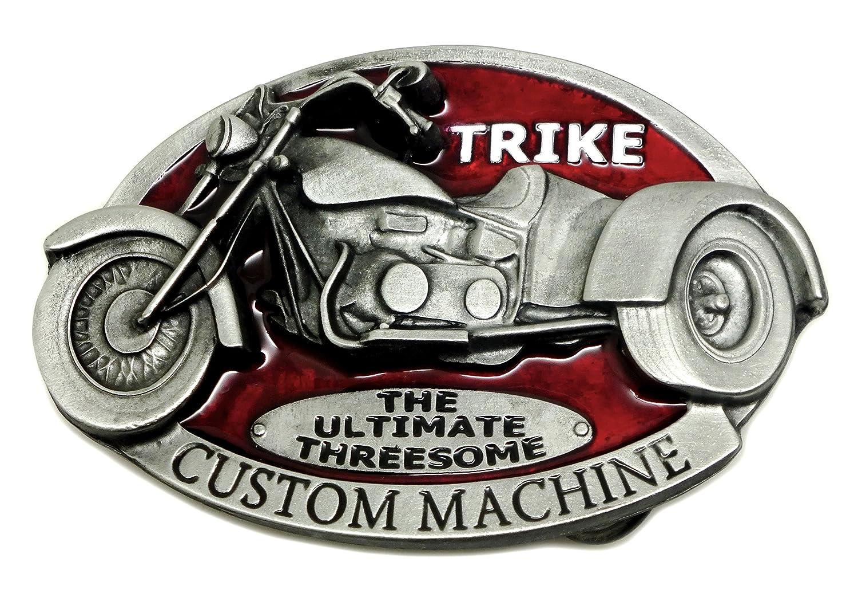 Black Trike /'Custom Machine/' Belt Buckle
