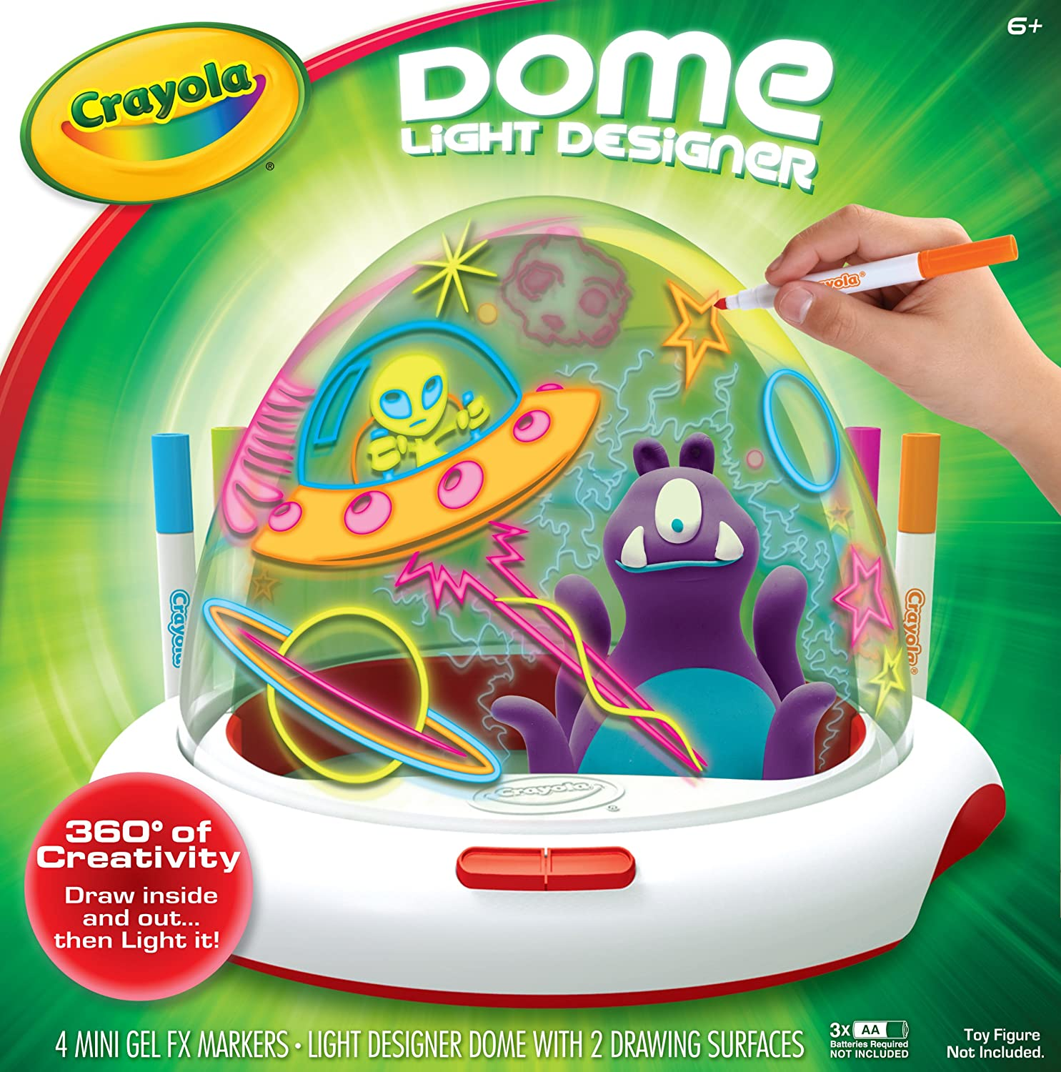Amazon Crayola Dome Light Designer Toys & Games
