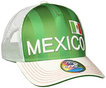 593f359180e Amazon.com   World Cup Soccer Mexico Boys Jersey Hook Flag Snapback ...