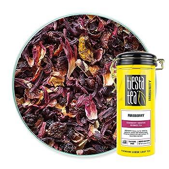 Tiesta Tea Fireberry Loose Leaf Rooibos Tea