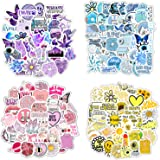 200 Stickers (50-600Pcs/Pack) for Children Teens Girls Adults. Fresh and Girly Pink Sticker, for Laptops Phones Water…