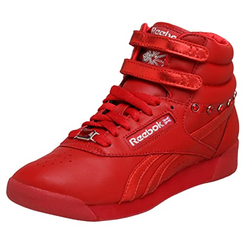 f14a9b6d61af6 Reebok Women s Freestyle Hi Jewels Sneaker