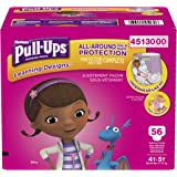 Pull-Ups Learning Designs Training Pants for Girls, 4T-5T, 56 Count (Packaging May Vary)