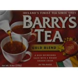 Barrys Gold Blend Tea Bags, 80 Count, 8.8 Ounce (Pack of 6)