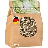 Hanfsamen aus Deutschland 500g. - ungeschälte Hanfnüsse - Vegan - Low Carb - Rohkost - ungeschälte Hanfsamen