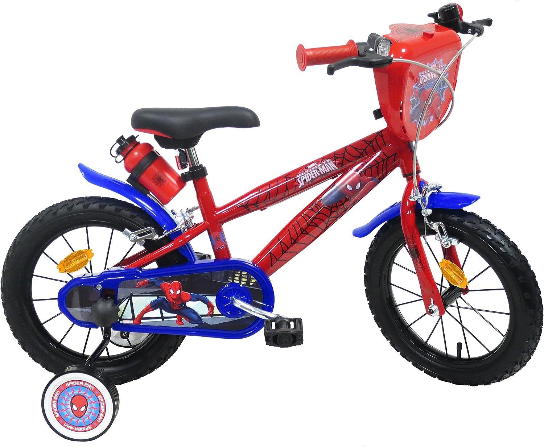 EDEN-BIKES Spider Man - Bicicleta Infantil, Multicolor, 14 ...