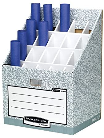Bankers Box System Roll Storage   Grey
