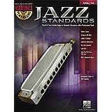 Jazz Standards: Harmonica Play-Along Volume 14 (Chromatic Harmonica) (Hal Leonard Harmonica Play-along)